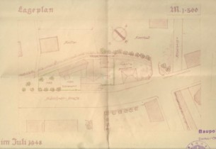 1948: Lageplan