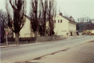 1968: Vor dem Straßenumbau