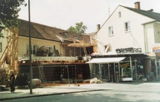 2004: Anbau Backstube