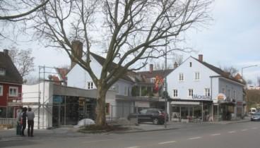 2011: Anbau Pralinengeschäft