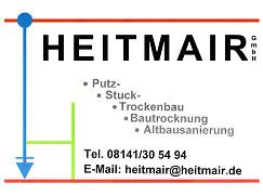 Heitmair Putz, Stuck, Trockenbau