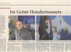 Einige Zeitungsartikel zum Hunderwasserhaus