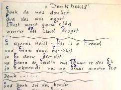 Lied-Text von Heinz-Eder